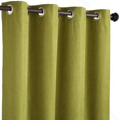 Product Details Grand Manor Green Curtain Panel Set 96 In