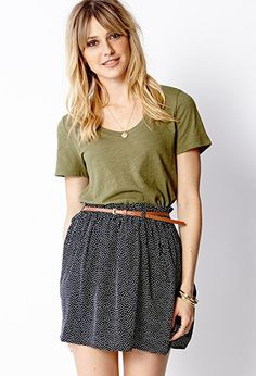 Everyday Scoop Neck Top | FOREVER 21 - 2000064072
