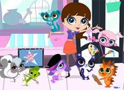juego Blythe Baxter and Littlest Pet Shop Puzzle