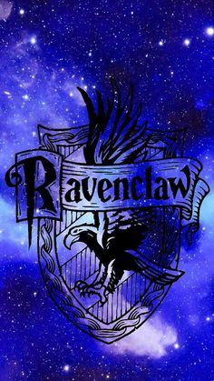 Has ravenclaw symbol with space background… - Hogwarts Harry Potter Tumblr, Harry Potter Casas, Memes Do Harry Potter, Harry Potter Crest, Arte Do Harry Potter, Harry Potter Pictures, Harry Potter Fandom, Harry Potter World, Phone Background Wallpaper