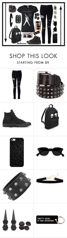 """Freddie Mercury Shirt"" by dadrumma ❤ liked on Polyvore featuring Miss Selfridge, Burberry, Hot Topic and Various Projects"