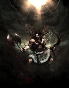 30 illustrations of Indian gods that will blow away your mind #India #Mythology #design