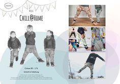 Mini Chill@Home - Schnittmuster und Nähanleitungen bei Makerist