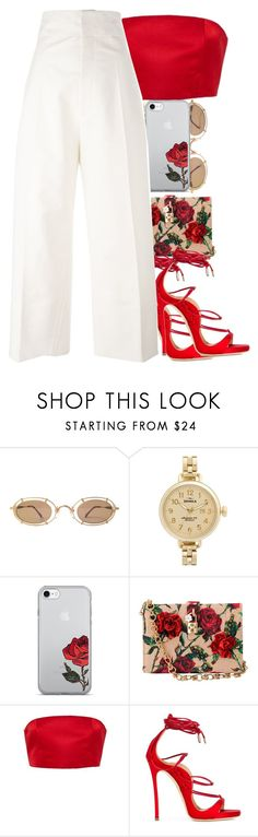 """Untitled #96"" by thaofficialtrillqueen ❤ liked on Polyvore featuring Shinola, Dolce&Gabbana, Katie Ermilio, Dsquared2 and Jacquemus"