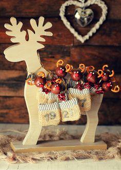 Kanela y Limón: Gallebolas / Renos de Navidad