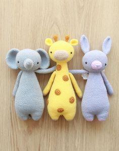 Crochet patterns by Little Bear Crochets: www.littlebearcrochets.com ❤️