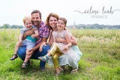 Cute family photo little kids - Celine Leah photography  gezinsfoto met kleine kinderen, fotoshoot - Celine Leah fotografie