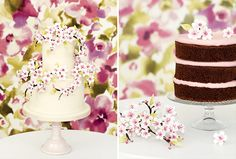 Peggy Porschen cherry blossom cake