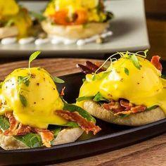 via @murl_at_dingleydellpork: Beautiful Eggs Benedict by the guys @bskhongkong #hongkong #breadstreetkitchenhk #gordonramsay  #pig #piggy #outdoorrearedpigs #duroc #landrace #bbq #kitchen #cook #freedomfoods #dingleydell #dingleydellpork #finedining #farm #farming #suffolk #farmtofork #chefslife #chefsofinstagram #truecooks #foodstars #foodporn #foodart #buybritish #deli #delicatessen #luxury