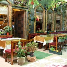 Amazing food at the local Cafe's & Resturants - Istanbul, Turkey. A must for tourists :)