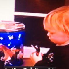 Little drummer boy!! (Ell)