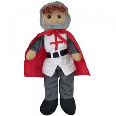 Personalised Rag Doll Sir William the Knight boy doll Boy Doll, Girl Dolls, Rag Dolls, Powell Craft, Embroidered Gifts, Little Girl Gifts, How To Make Toys, Guys And Dolls, Crafts For Boys
