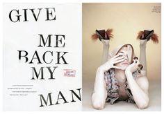 yuripleskunlove4 Give Me Back My Man | Yuri Pleskun for Love Magazine by David Sims