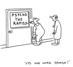Rapist funny cartoons from CartoonStock directory - the world's largest on-line collection of cartoons and comics. Funny Doctor Memes, Doctor Humor, Funny Memes, Funny Quotes, Life Quotes, Work Quotes, Sarcastic Quotes, Motivational Quotes, Medical Memes