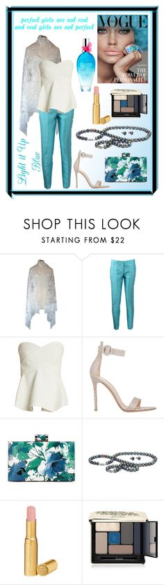 """""""PERFECT GIRLS ARE NOT REAL AND REAL GIRLS ARE NOT PERFECT!!!!!"""" by kskafida ❤ liked on Polyvore featuring Michael Kors, 10 Crosby Derek Lam, Gianvito Rossi, Too Faced Cosmetics, Guerlain and ESCADA"""