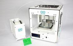 Arduino presentó Materia 101, una impresora 3D de bajo costo y código abierto.