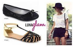 ¿Con cuál #balerina les gusta más este #outfit ? ❤ #moda #estilo #Lunaglam