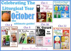 Living the Liturgical Year With Kids- October