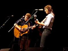 You Belong to Me, Brandi Carlile and Gregory Alan Isakov. I really love when my favorite musicians love each other and make awesome duets. From minute 3:15 on... soooo good.