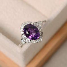 Blue Opal Ring, Emerald Ring Gold, Gold Diamond Wedding Band, Emerald Jewelry, Gold Jewelry, Jewelry Box, Amethyst Gemstone, Purple Amethyst, Gemstone Rings