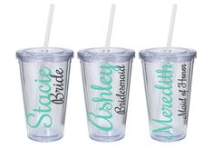 Custom wedding tumblers are a great way to add a special touch to your event or celebration.    Details: