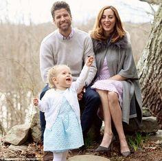 Eva Amurri her husband Kyle Martino, pictured with daughter Marlowe, ...