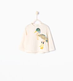 ZARA - COLLECTION AW15 - Duck T-shirt