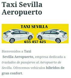 #TaxiSevilla vehículos ecológicos  disfrute del silencio y el confort en nuestros vehículos  Para tus traslados al aeropuerto , confíe en Taxi Sevilla ☎ 655457425