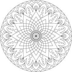 mandala coloring sheet mandala coloring pages printable and colors - Art Therapy Coloring Pages Mandala
