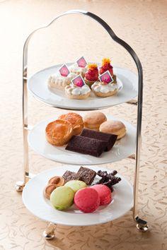 "Afternoon tea set ""Royal style"" of ANA Intercontinental Hotel Tokyo"