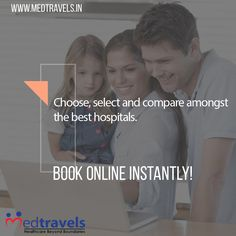 Choose, select and compare amongst the best hospitals for your required treatment and discuss with hospital representative and book online instantly! Go through the entire list of best possible treatment in hospitals near you. Visit our premium online healthcare portal at buff.ly/2kgX6X5 and get access to all your medical needs under one place.  #doctor #portal #healthcare #healthyliving #dentist #wellness #medicine #medical #health #hitsm #hcsm #occupyhealthcare #MedEd #HealthTalk…
