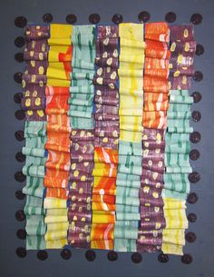 Eric Carle-inspired relief sculpture/painting by Therese Brady Donohue ::: Making Art with Children :::The Eric Carle Museum