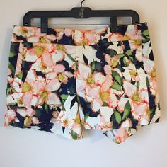"""New Item  J. Crew 5"""" Shorts Color: Navy, green, cream, pink, yellow.                                                                Cotton. Sits just above hip. 5"""" inseam. Zips on side.                                                              Slant pockets, back welt pockets. Machine wash.                                                        Factory Brand                                                              # 29 J. Crew Shorts"""