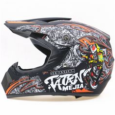 Professional Light weight off road motorbike helmet DOT approved motorcycle helmet dirt bike head gears