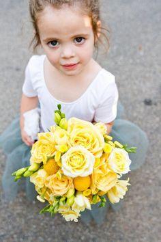 Las niñas de flores