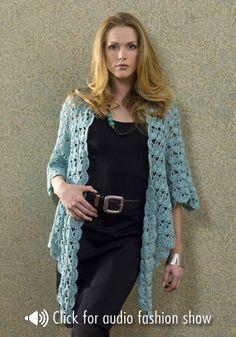 Zen Jacket By Doris Chan - Free Crochet Pattern - (naturallycaron)