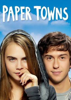 Paper Towns Blu-Ray + DVD + Digital HD Cara Delevingne, Nat Wolff) New by entertainmentplace on Etsy Margo Roth, Cara Delevingne, New Movies, Movies Online, Movies And Tv Shows, John Green, Nat Wolff Paper Towns, Austin Abrams, Streaming Hd