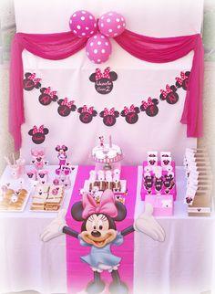 Hazlo especial...: Fiesta Minnie Mouse...