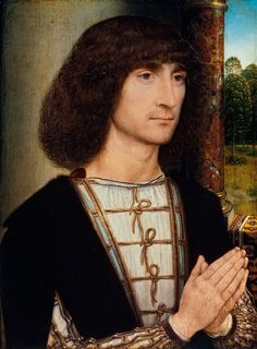 """Ludovico Sforza """"Il Moro"""", Duke of Milan, son of Francesco Sforza. Patron of Leonardo da Vinci. Under his rule, Milan became a center of Renaissance learning and endeavor. he was a great patron of Leonardo, and commissioned The Last Supper. Renaissance Men, Renaissance Clothing, Italian Renaissance, Hans Memling, Hans Holbein, Jan Van Eyck, Robert Campin, Louis Xii, Roi Louis"""