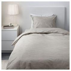 IKEA   SKOGSALM Duvet Cover And Pillowcase(s) Beige