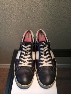 Current collection - cole haan air court oxford navy/white. 6 years old and need a lot of work. Should take them to a cobbler, love these things since they have been so faithful over the years.