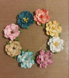 Flores matizadas