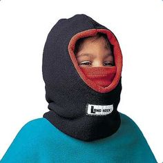 Hanging Off The Wire: #BackToSchool With OneStepAhead Cold Weather Gear: It's a toasty hood, face warmer, and gaiter in one - and however they wear it, kids love the fleecy 3-in-1 head warmer! Reversible, for even more fun. Gives kids one, two, three ways to stay warm, and double the fashion options...