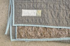 Karyn's Amish Bars Quilt by the workroom, via Flickr