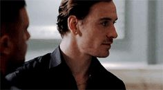 "Michael Fassbender  as Caz Miller in  ""Murphy's Law"""