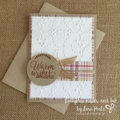 Image result for warmest of wishes stampin up christmas card