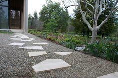 Mixing materials to create a unique pathway — Pacori Interiors