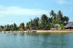 Ilha do Mussulo, Luanda, Angola.