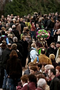 carnaval veneciano en Annecy (2010). FR.-
