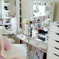 CLICK For More MAKEUP COLLECTION IDEAS For Your Beauty Room to organize your…